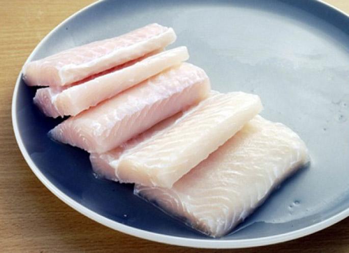thịt cá chẽm phi lê